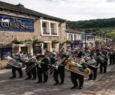 Marsden Band History - Marching Onward